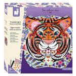 Kit créatif Strass et paillettes Trophée Tigre