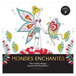 Carnet Happy coloriage Mondes enchantés