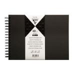 Album à personnaliser Noir 40 feuilles 185 g/m² - 16 x 21 cm