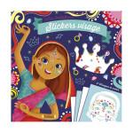 Pochette Mes Créations : Stickers visage Princesses du monde