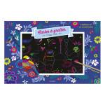 Pochette Mes Créations : Cartes à gratter Paysages merveilleux