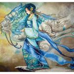 Broderie Diamant kit  expert Princesse dragon